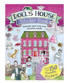 Loving this Doll's House Sticker Book Paperback on #zulily! #zulilyfinds