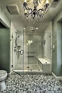 Traditional Bathroom Design, Pictures, Remodel, Decor and Ideas - page 6 Bad Inspiration, Bathroom Inspiration, Dream Bathrooms, Beautiful Bathrooms, Guest Bathrooms, Luxurious Bathrooms, Glamorous Bathroom, White Bathrooms, Traditional Bathroom