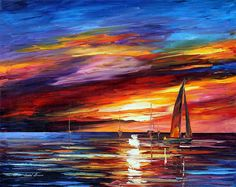 SKY BEAUTY - PALETTE KNIFE Oil Painting On Canvas By Leonid Afremov https://afremov.com/SKY-BEAUTY-PALETTE-KNIFE-Oil-Painting-On-Canvas-By-Leonid-Afremov-Size-30x24.html