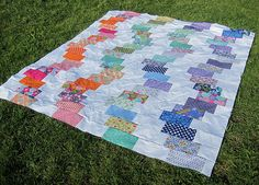 From A - Contraflow Quilt Top