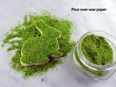 How to create a moss effect | Semi Sweet Designs