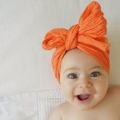 The Little Orange Cottage on Maple Tree Lane Orange You Glad, Orange Is The New, Little Ones, Little Girls, Cute Babies, Baby Kids, Orange Crush, Bitty Baby, Happy Colors