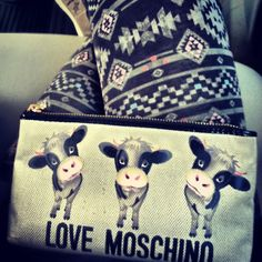 Photo by vkabaday #moschino #lovemoschino #love #bag