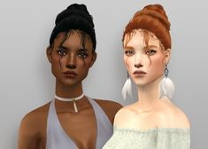 NewSea's Besame hair 4t2 | evannamari Sims 2 Hair, Only Play, My Girl, Girls, Toddler Girls, Daughters, Maids