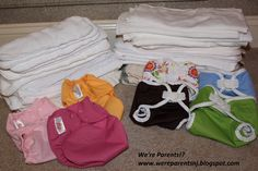 We're Parents!?: Prepping Cloth Diapers for a Newborn