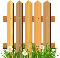 Picket Fence Flower Garden PNG - angle, can stock photo, chainlink fencing, clipart, clip art Wooden Fence, Wooden Garden, Pallet Privacy Fences, Timber Fencing, Farm Fence, Borders And Frames, Modern Design, Shabby Chic, Clip Art