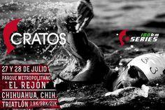 """Este 27 y 28 de Julio : Triatlón de 100K !  Al Parque Metropolitano """"El Rejón""""    http://cratosdeportes.com.mx/classes/triatlon-100k/    / Trimundo"""