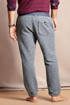 Time to snuggle up in these lounge pants for $60. The vintage look and relaxed fit pair well with a busy day doing nothing.