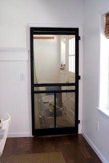 Interior Screen Door For Guest Room To Keep Out Cats But
