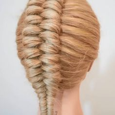 Amazing braid By: Easy Hairstyles For Long Hair, Braided Hairstyles Tutorials, Braids For Long Hair, Up Hairstyles, Hairstyle Men, Style Hairstyle, Wedding Hairstyle, Hair Tutorials, Front Hair Styles