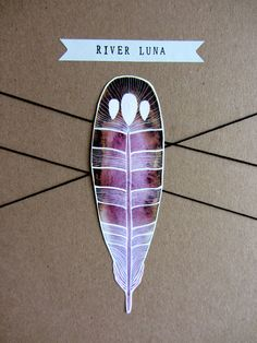 Packaging from an Etsy shop - River  Luna