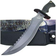 BK2324 Skull Hunter Tactical Bowie Knife & Sheath | MooseCreekGear.com | Outdoor Gear — Worldwide Delivery! | Pocket Knives - Fixed Blade Knives - Folding Knives - Survival Gear - Tactical Gear