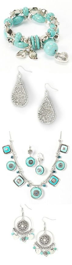 Turquoise + Silver Jewelry