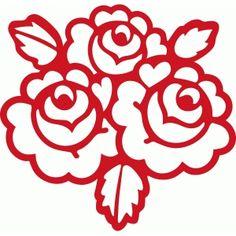 Дизайн магазина силуэт - Просмотр дизайн #74767: Валентина розы