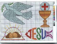 Punto de Cruz GRATIS: Religiosos