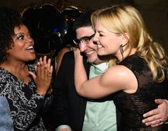 Yvette Nicole Brown exec p roducer Adam Horowitz and Jennifer Morrison attend the Screening Of ABC's 'Once Upon A Time' Season 4 after Party at the Roosevelt Hotel on September 21, 2014 in Hollywood, California.