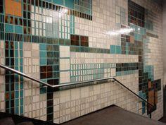 Maria Keil | Estação / Station Intendente | Metropolitano de Lisboa / Lisbon Underground | 1966 #Azulejo #MariaKeil #MetroDeLisboa