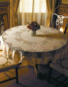 Victorian Rose Tablecloth from Victorian Trading Co.