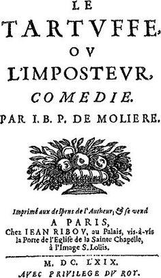 Image illustrative de l'article Le Tartuffe ou l'Imposteur