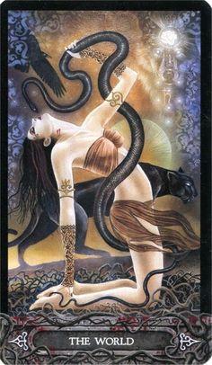 Tarot of Vampyres Vampires, The World Tarot, Sphinx, Pagan Art, Vampire Art, Ancient Egyptian Art, Beautiful Fantasy Art, Major Arcana, Dark Ages