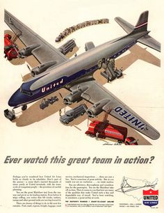 United Air Lines In Action 1951