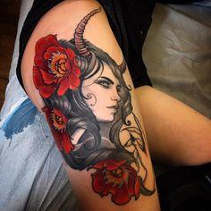Work by: Jeff Norton, California #ink #tattoo