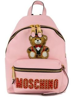 10780cb23 Women's Bags & Purses - Farfetch Moschino, Pink, Shoulder Strap, Luggage  Bags