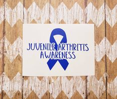 Create Awareness, Awareness Ribbons, Car Decals, Sticker, Spoon Theory, Juvenile Arthritis, Invisible Illness, Team Names, Crafting
