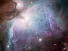 The Orion Nebula - This image of the Orion Nebula was captured using the Wide Field Imager camera on the MPG/ESO 2.2-metre telescope at the La Silla Observatory, Chile on Jan. 11, 2011.