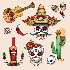 Dia de Los Muertos tattoos what is the day of the dead tattoos and what is the significance of them. FInd out here you will be surprised.