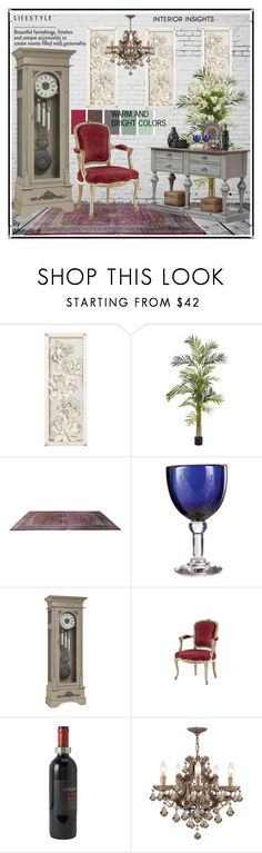 """Beautiful furnishings, finishes and unique accessories to create rooms with personality."" by whitewolf ❤ liked on Polyvore featuring interior, interiors, interior design, home, home decor, interior decorating, Nearly Natural, Sarreid, Jan Barboglio and DutchCrafters"