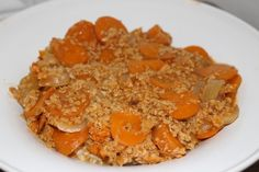 Mafé végétarien aux carottes (plat malien)