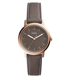 Fossil Neely Analog LeatherStrap Watch #Dillards