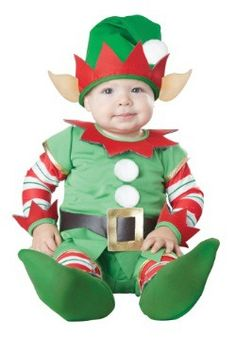 Infant Christmas Elf Costume                                                                                                                                                                                 More