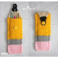 crochet pencil case idea