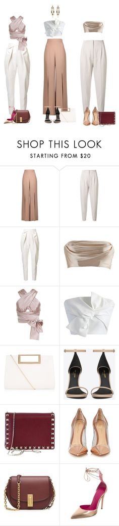 """Untitled #109"" by bycocoandlola ❤ liked on Polyvore featuring Cushnie Et Ochs, MaxMara, Delpozo, Dolci Follie, Jessica Choay, Chicwish, New Look, Yves Saint Laurent, Valentino and Gianvito Rossi"