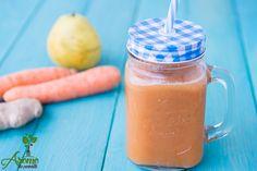 Suc de pere, morcovi si ghimbir