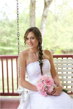 beautiful southern bridal photography - rustic wedding photographers, raleigh nc