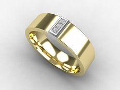 Yellow Gold, wedding band, mens diamond ring, men Gold band, wedding band, commitment ring, diamond, white gold, men ring