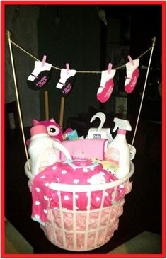 DIY Baby Shower Gift Ideas for those on a budget - DIY baby gifts, baby shower gifts, cheap baby shower gifts, DIY baby shower gift for girls and for boys (gender neutral and unisex too). Unique and Easy Homemade and CHEAP DIY baby shower gift ideas. Cheap Baby Shower Gifts, Budget Baby Shower, Baby Shower Gift Basket, Diy Baby Gifts, Baby Girl Gifts, Easy Gifts, Baby Shower Parties, Baby Shower Centerpieces, Diy For Girls
