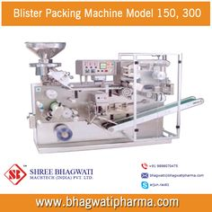 Blister Packing Machine Model 150, 300 - http://www.bhagwatipharma.com/blister_packing_machine.html