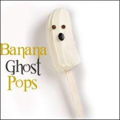 Banana ghost pops! Perfect for Velata White Chocolate! www.adona.velata.us