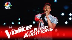 """The Voice 2016 Blind Audition - Joe Maye: """"I Put a Spell on You"""". WOW!! He and Christina slayed it!! LOVE both of them!!"""