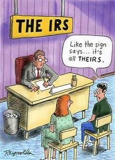 Nice observation about the irs.