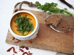 polévka z pečené mrkve