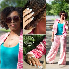 Fashion Refined ~ Summer Printed Suit | Refined and Polished