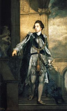 Lord Carlisle by Joshua Reynolds, 1769 - Frederick Howard, 5th Earl of Carlisle (1748–1825) was a British diplomat & the son of Henry Howard, 4th Earl of Carlisle & his second wife Isabella Byron. His mother was a daughter of William Byron, 4th Baron Byron & his wife Hon. Frances Berkeley, a descendant of John Berkeley, 1st Baron Berkeley of Stratton. In 1798, Carlisle was appointed guardian to Lord Byron who later lampooned him in English Bards & Scotch Reviewers
