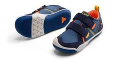 Plae Ty H&L in Denim/Navy. #plae #plaeshoes #cuteboyshoes #velcroshoes #toddler #youth #boys