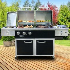 Member's Mark Hybrid Pellet and Gas Grill - Sam's Club Outdoor Kitchen Countertops, Stone Countertops, Kitchen Taps, Slow Cook Roast, Lush, Patio Gas, Grill Island, Stainless Steel Rod, Stone Panels