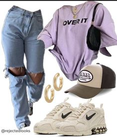 Swaggy Outfits, Cute Swag Outfits, Cute Comfy Outfits, Indie Outfits, Teen Fashion Outfits, Retro Outfits, Simple Outfits, Stylish Outfits, Teenager Outfits